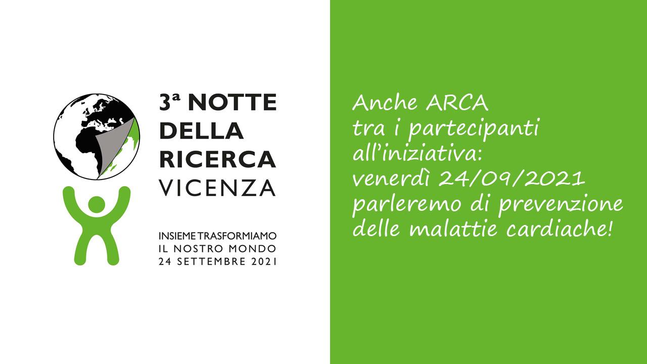 Notte della Ricerca a Vicenza 2021